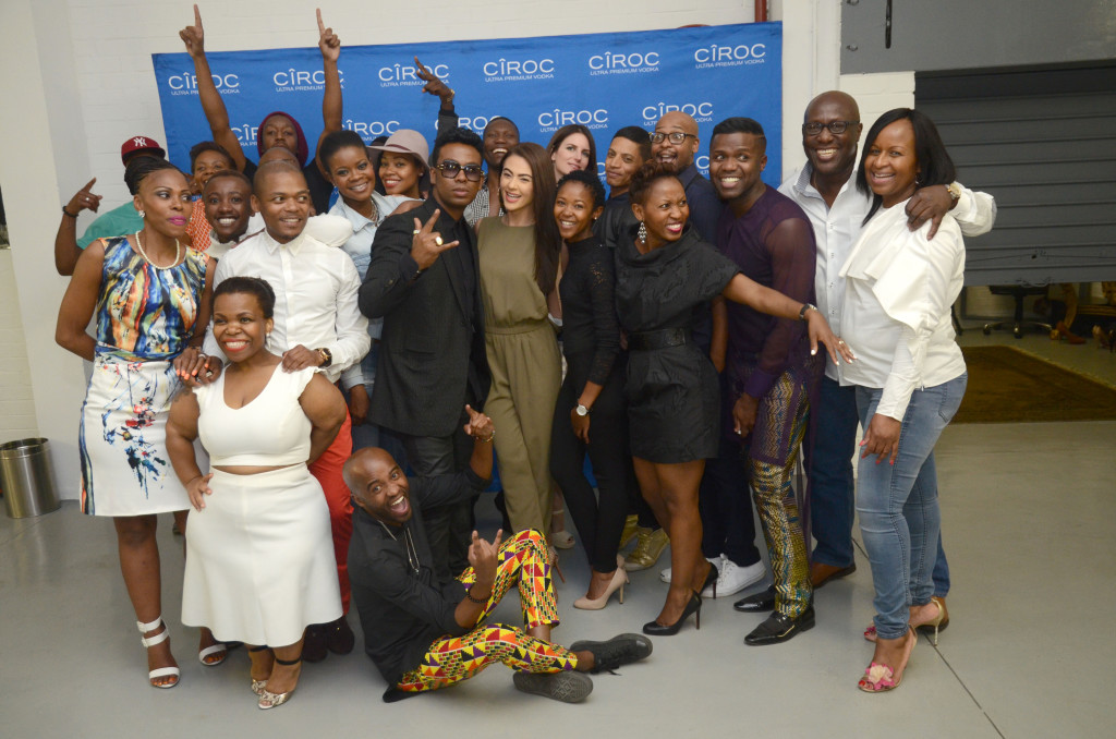 David Tlale and team photography by Oupa Bopape
