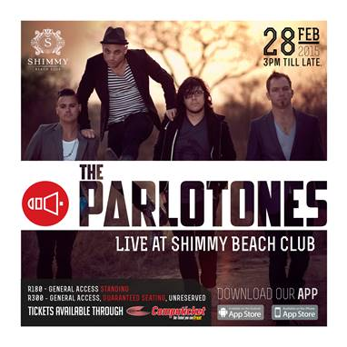 The Parlotones Live at Shimmy Beach Club