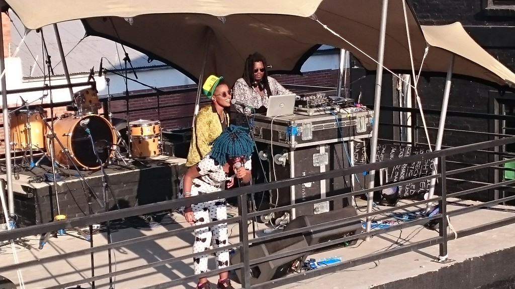 Toya Delazy performs at 7Seven Sounds