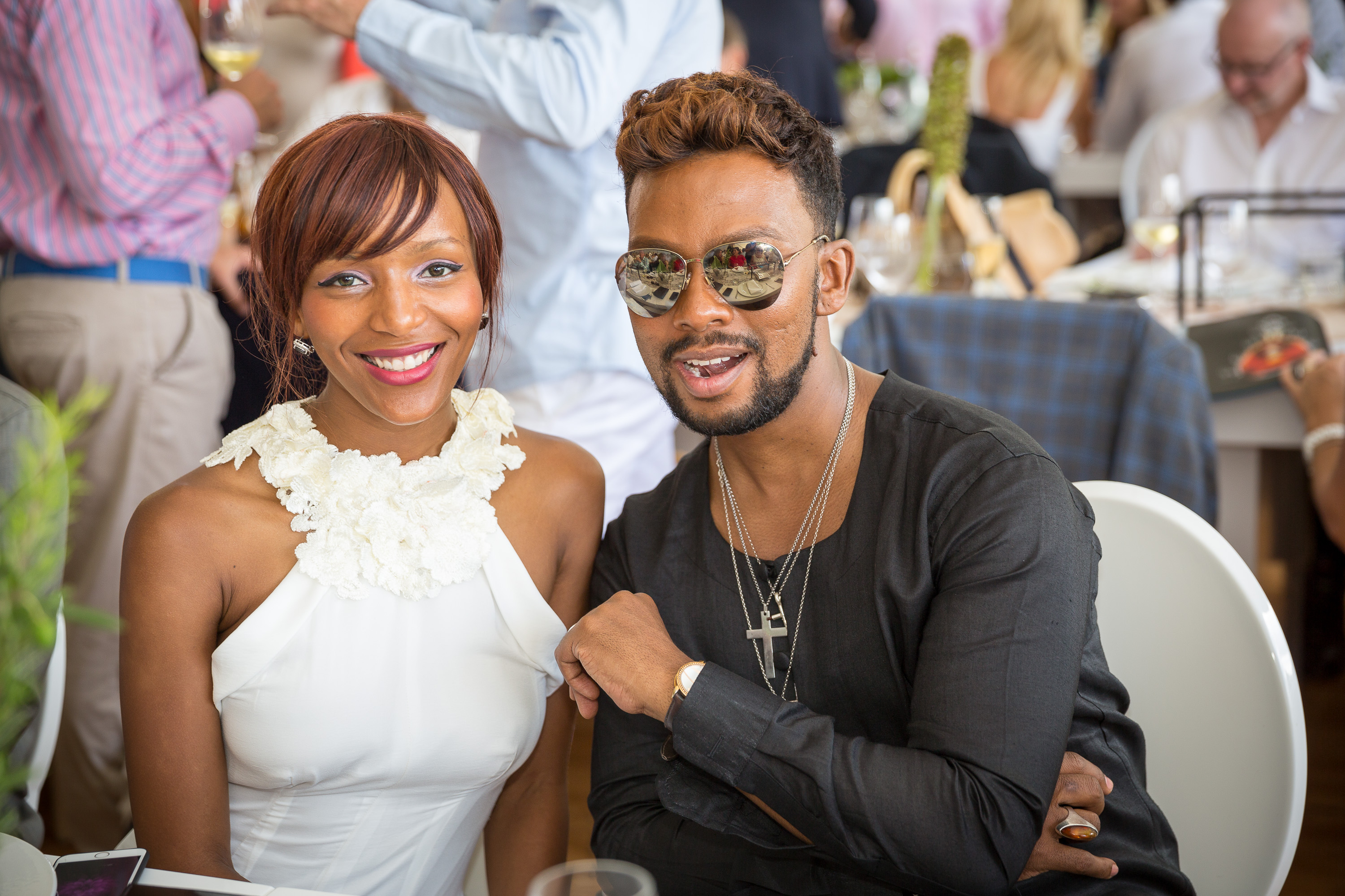 Nandi Ganda & David Tlale | Cape Wine Auction 2016