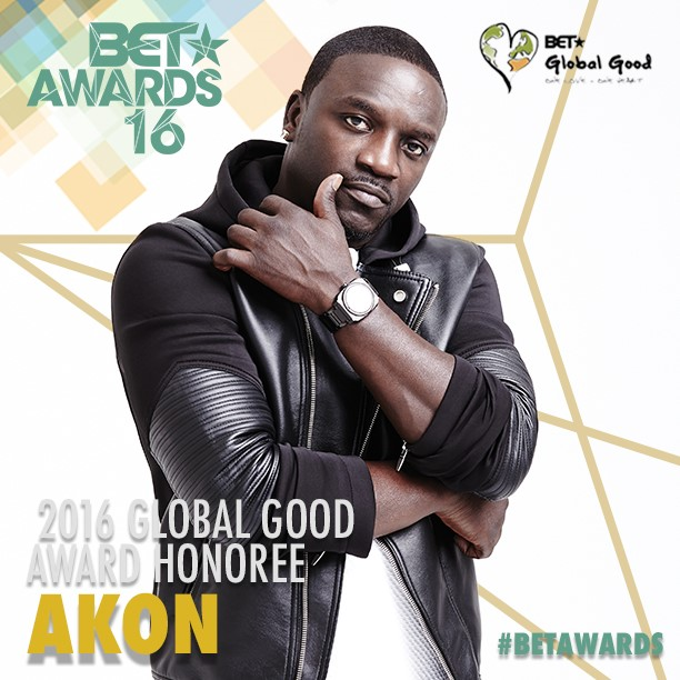 Image of Akon, courtesy of BET