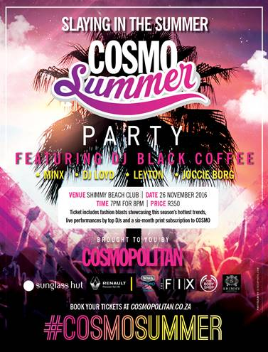 Cosmo Summer Party