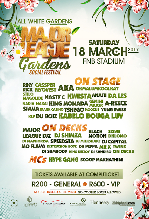 Major League Gardens LineUp