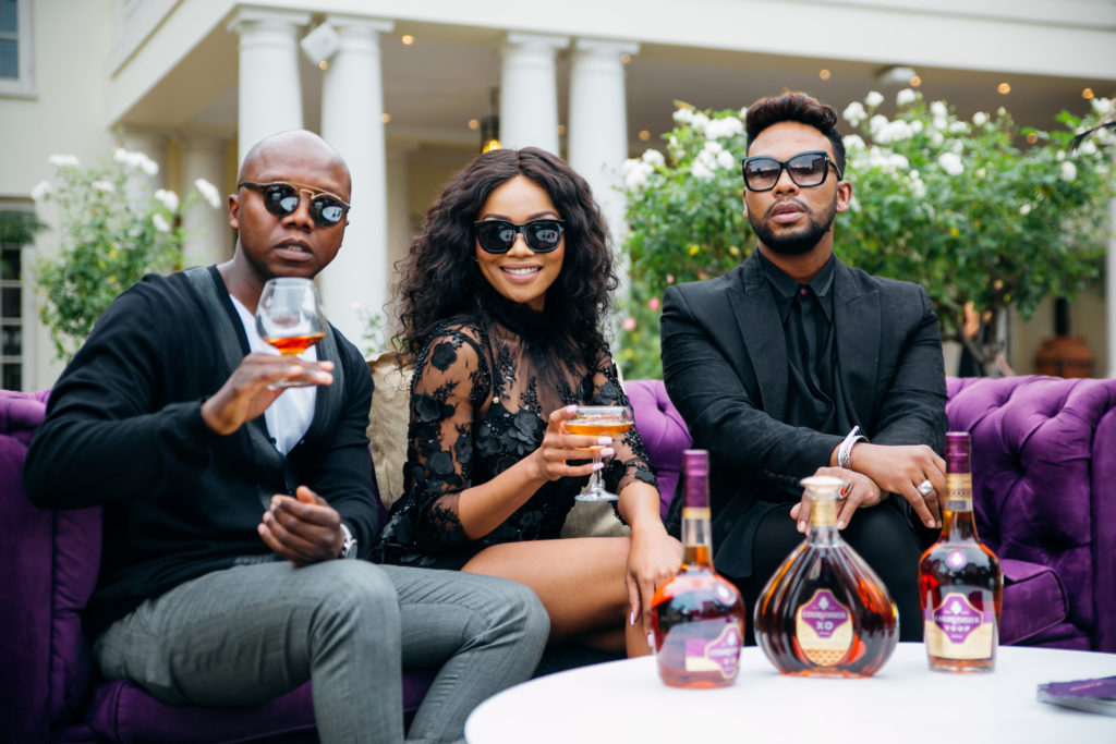 Tbo Touch, Bonang Matheba and David Tlale