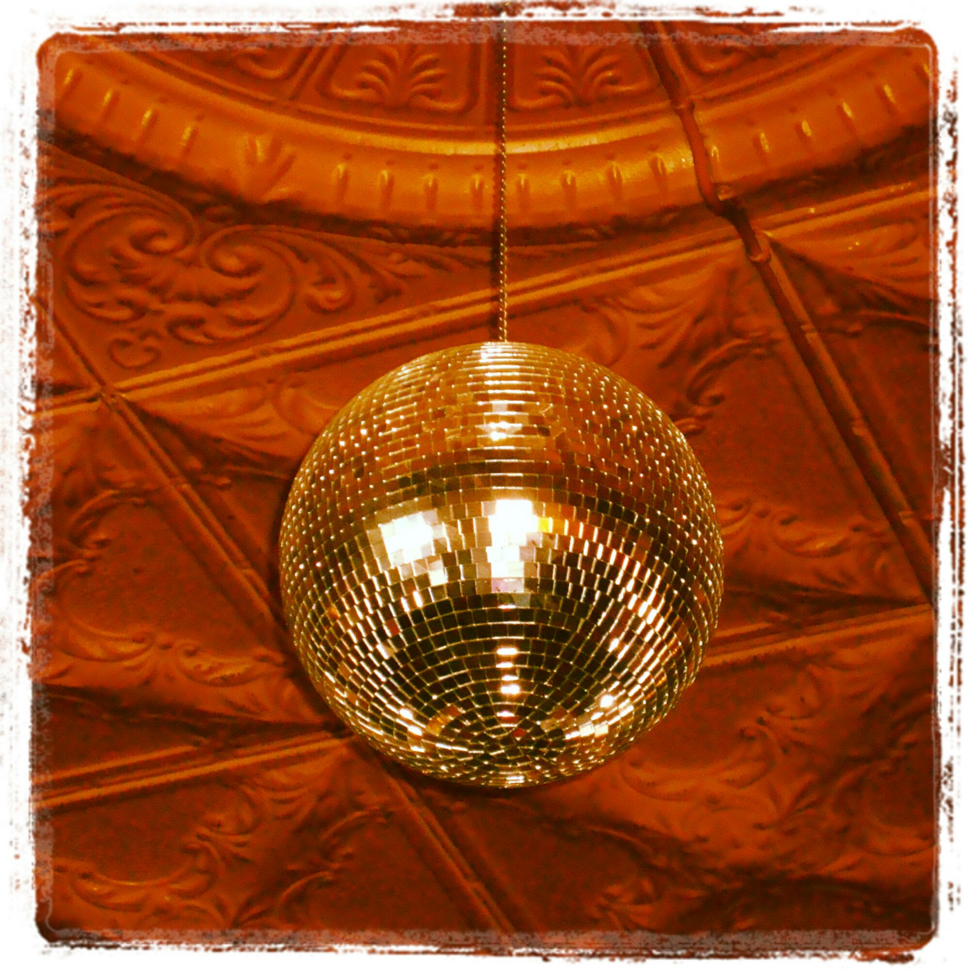 Disco Ball at Kitcheners