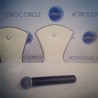 Taken at CirocLife_SA Event