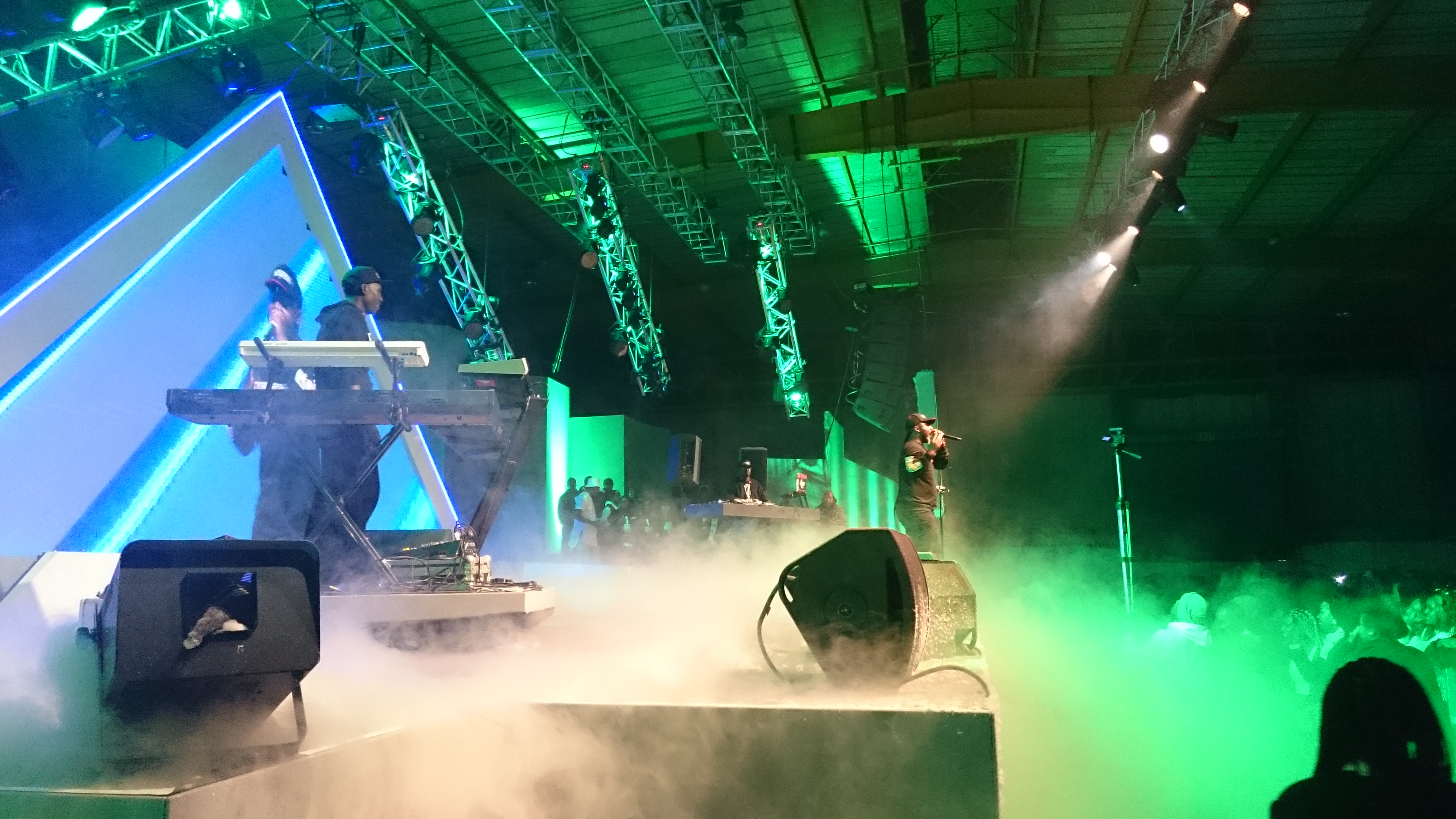 Cassper Nyovest performs during the Castle Lite Embassy Event