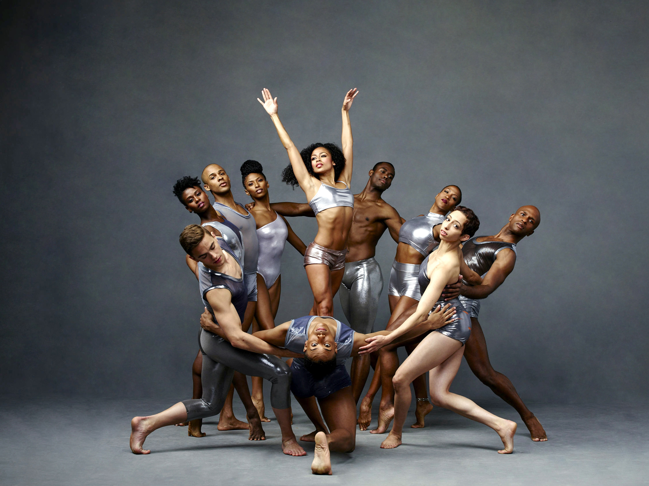 B- Alvin Ailey American Dance Theater. Photo by Andrew Eccles