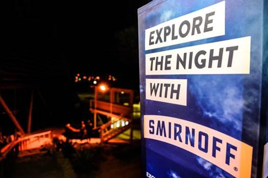 Smirnoff Explore the Night