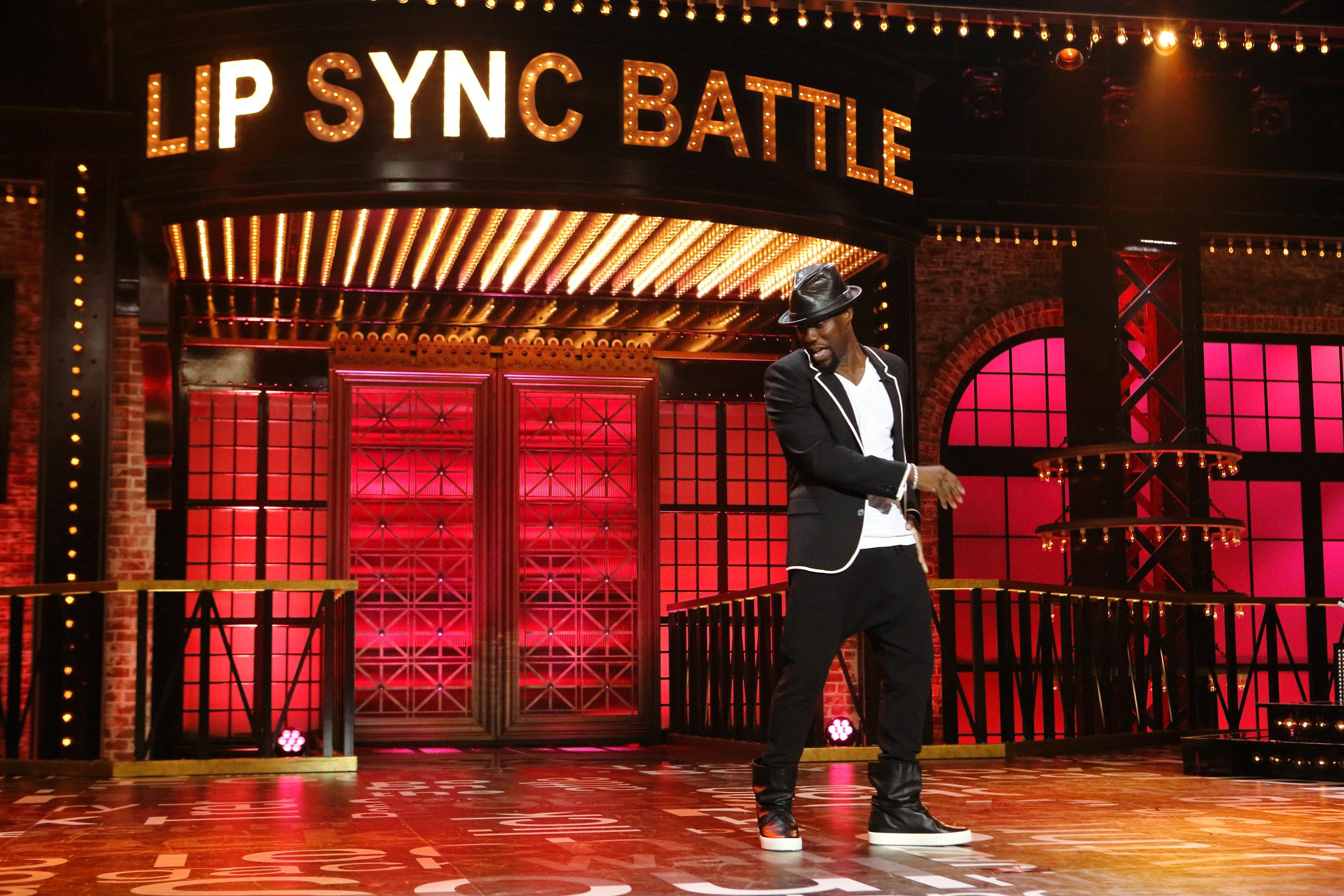 Image of Kevin Hart taken off Lip Sync Battle US season 2, credit: Spike TVImage of Kevin Hart taken off Lip Sync Battle US season 2, credit: Spike TV
