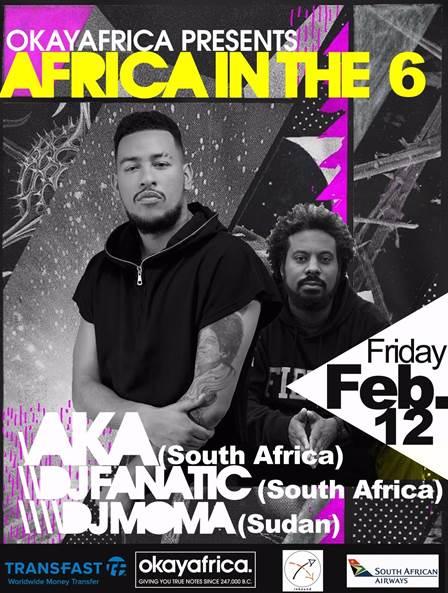OkayAfrica Africa In The 6