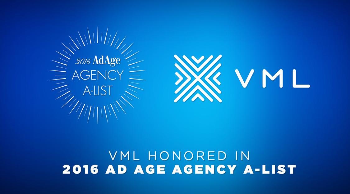 VML makes Ad AgeGÇÖs Agency A-List- Image