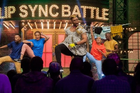 Image of Tumisho Masha on Lip Sync Battle Africa