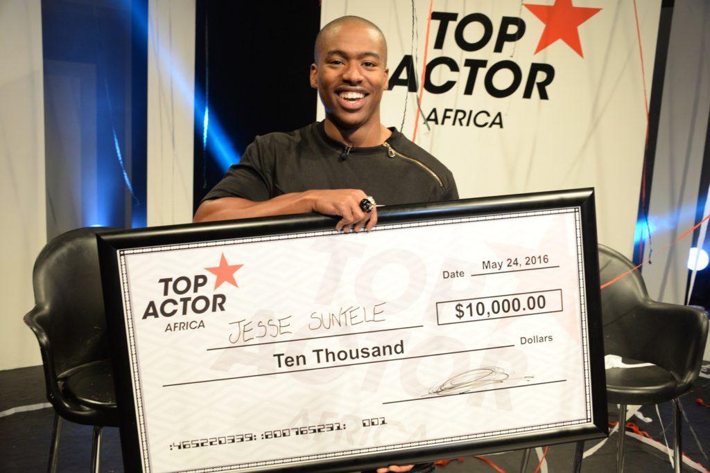 "South African Actor Jesse Suntele Wins BET's ""Top Actor Africa"