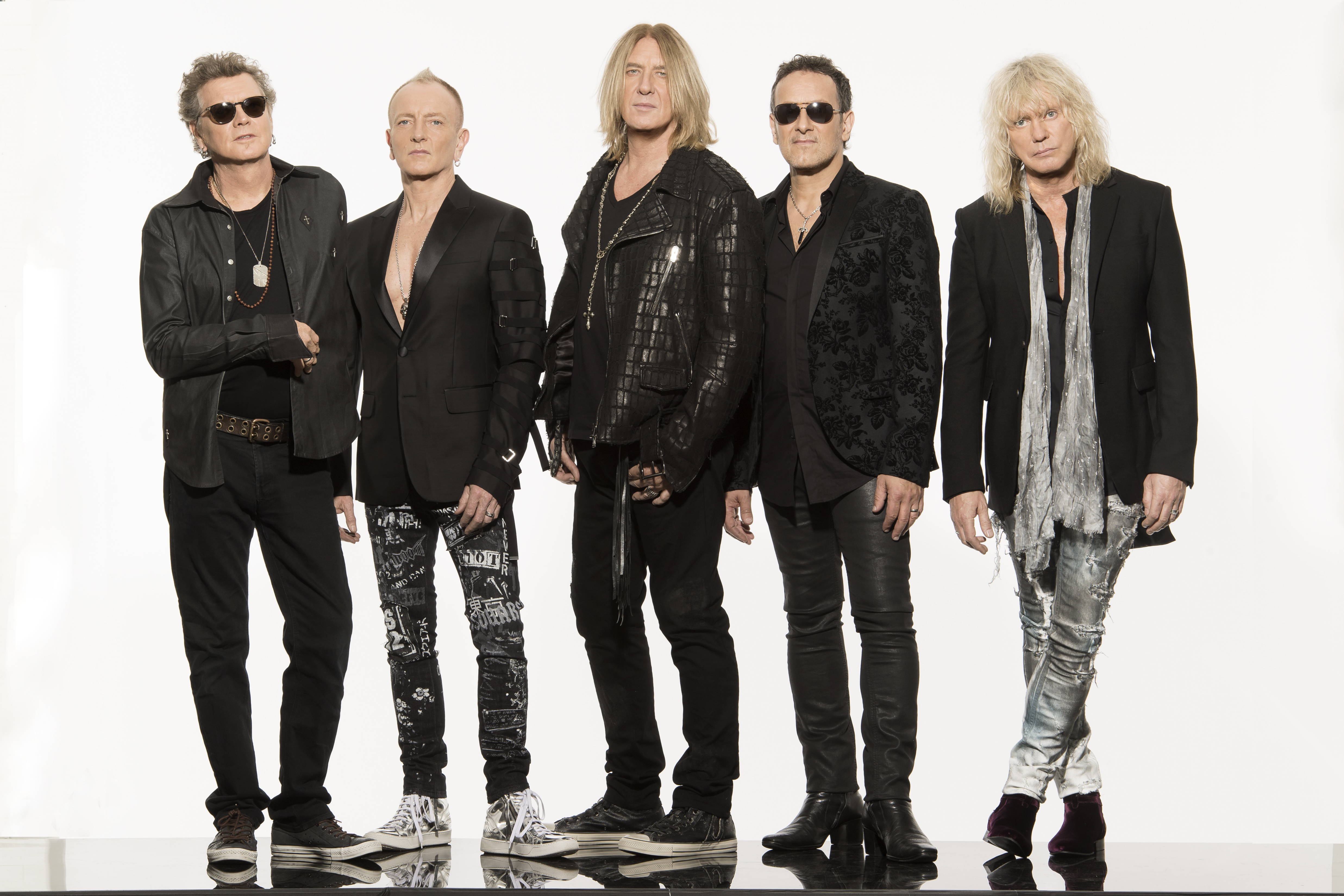 Def Leppard picture credit Ross Halfin
